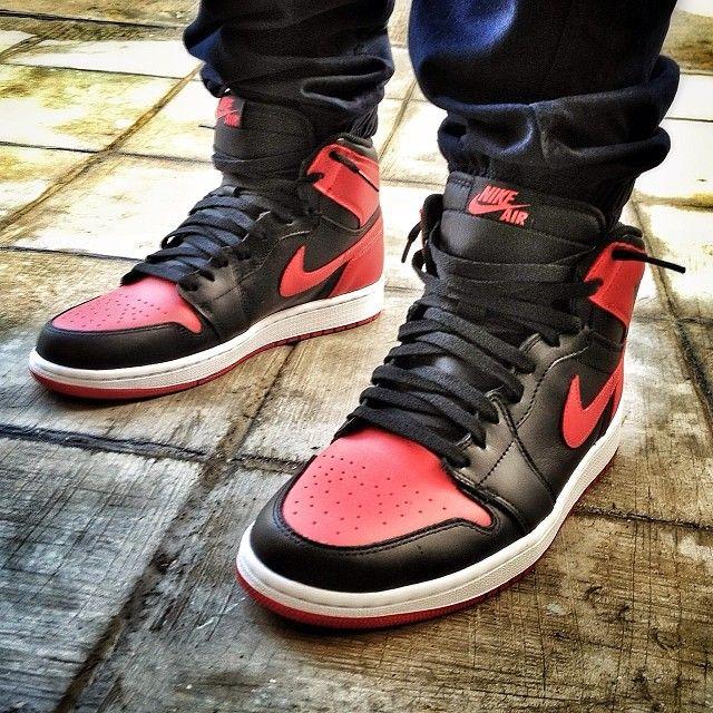 reasonably priced how to buy free shipping Jordans on Feet | Jordan 1's Breds | Jordans, New retro ...
