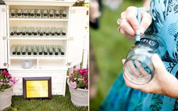7 Cute Mason Jar Ideas For Weddings