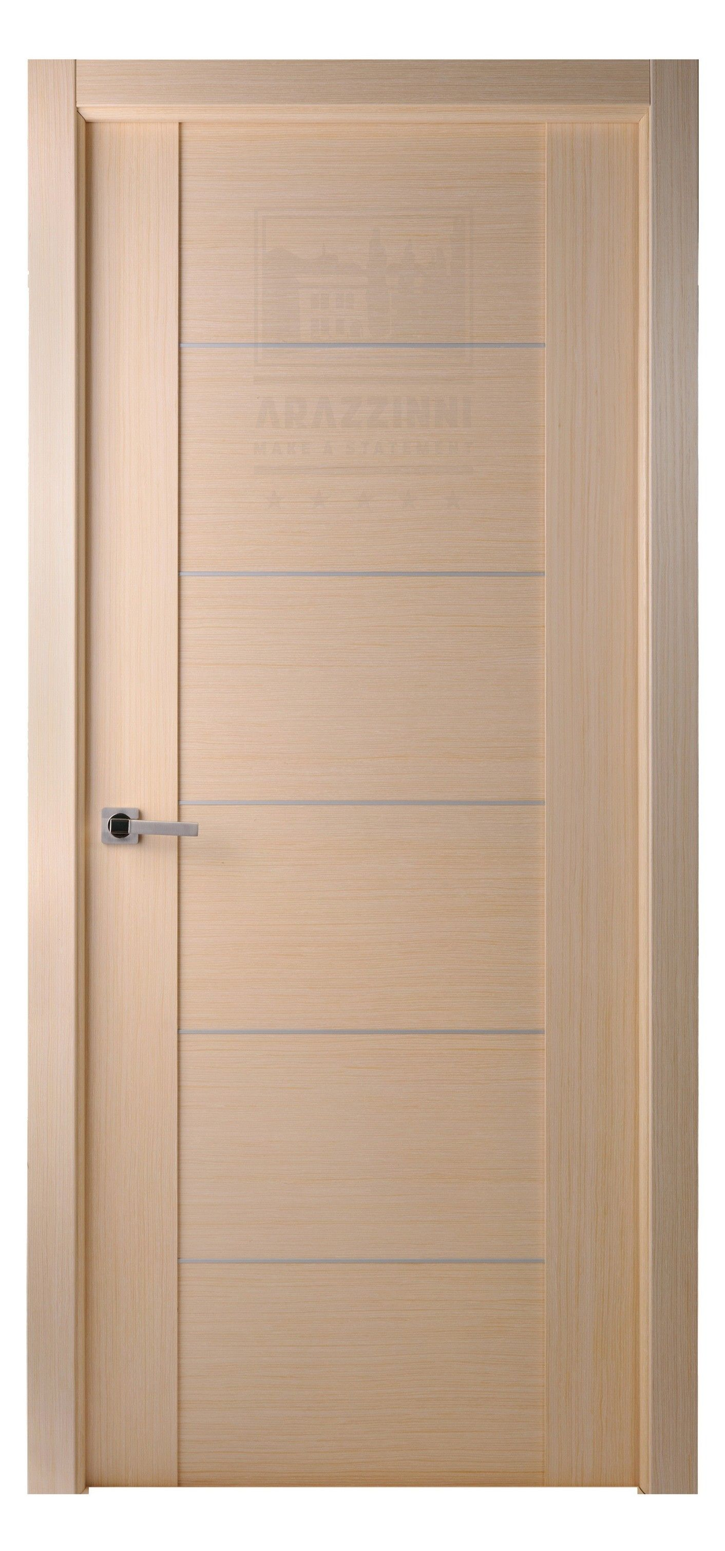 Maximum 201 Interior Door In A Bleached Oak Finish With
