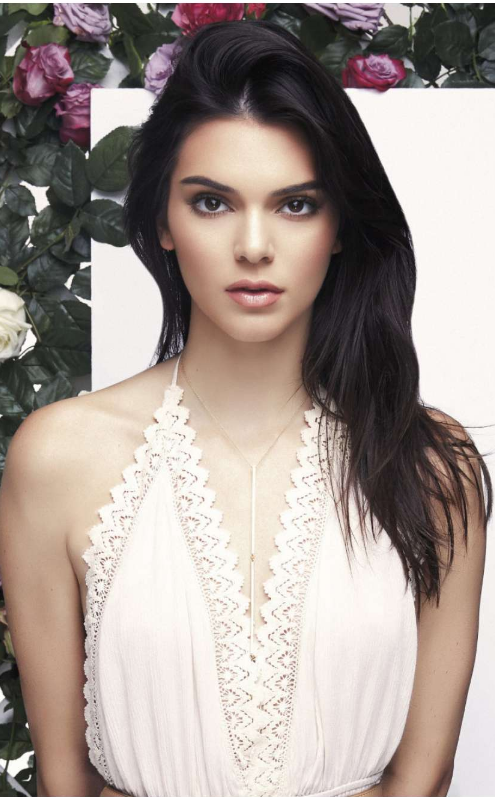 Kendall Jenner in PacSun