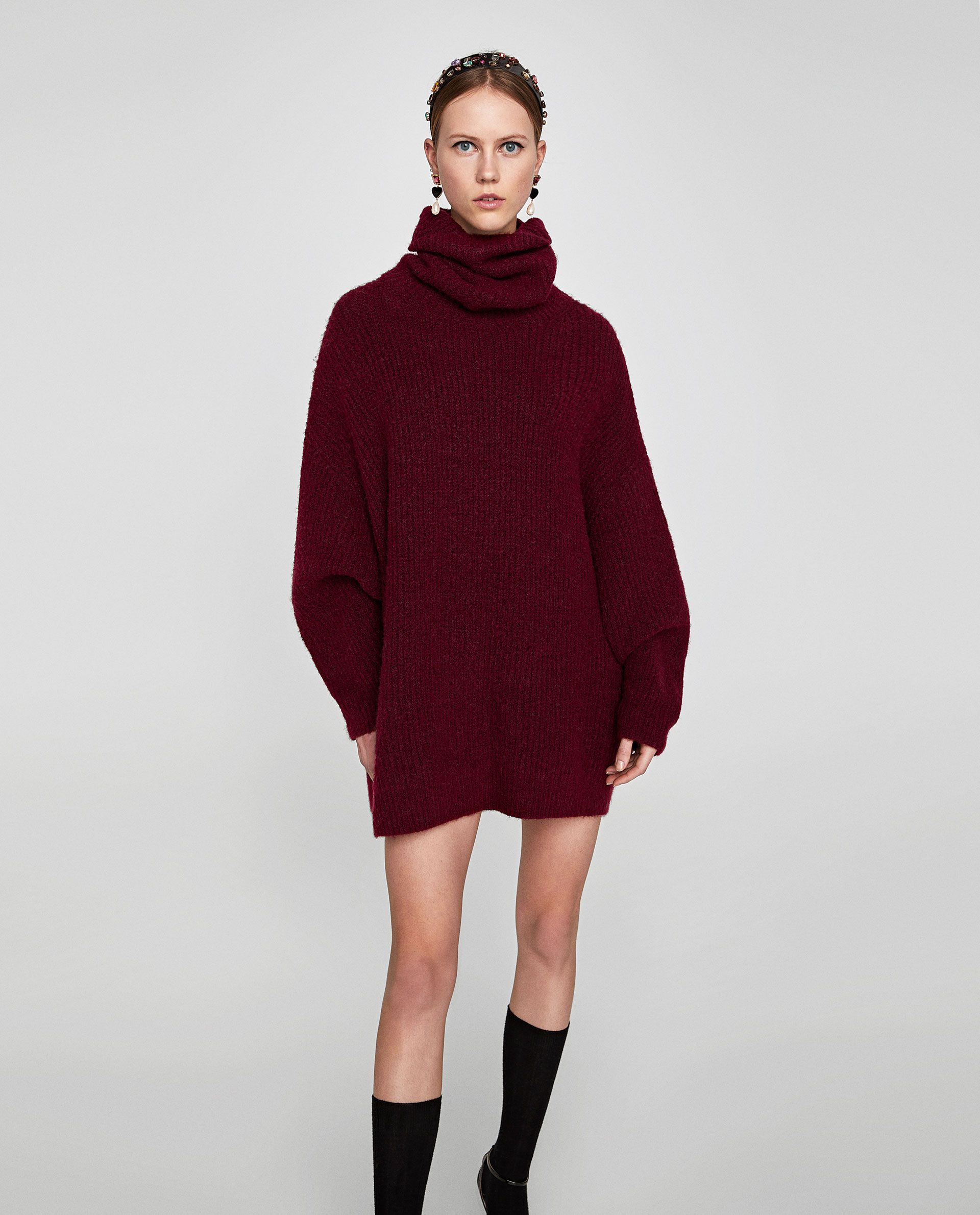 bda969a6 OVERSIZED ROLL NECK SWEATER - Available in more colours   in the ...