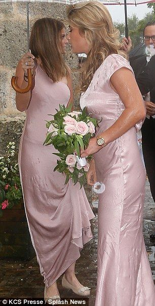 Athina Onassis Makes A Rare Public Appearance At Family Wedding