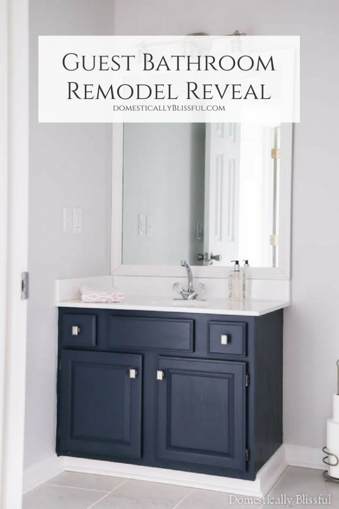 Guest Bathroom Remodel Reveal Small Bathroom Remodeling Awesome Budget Bathroom Remodel Painting
