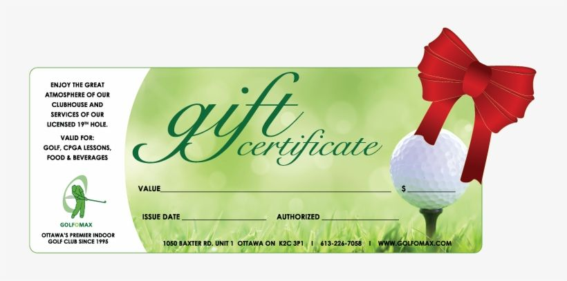 Pin By Ruthie W Bertram On Certificate Templates Certificate Template Unique Golf Gift Golf Lessons