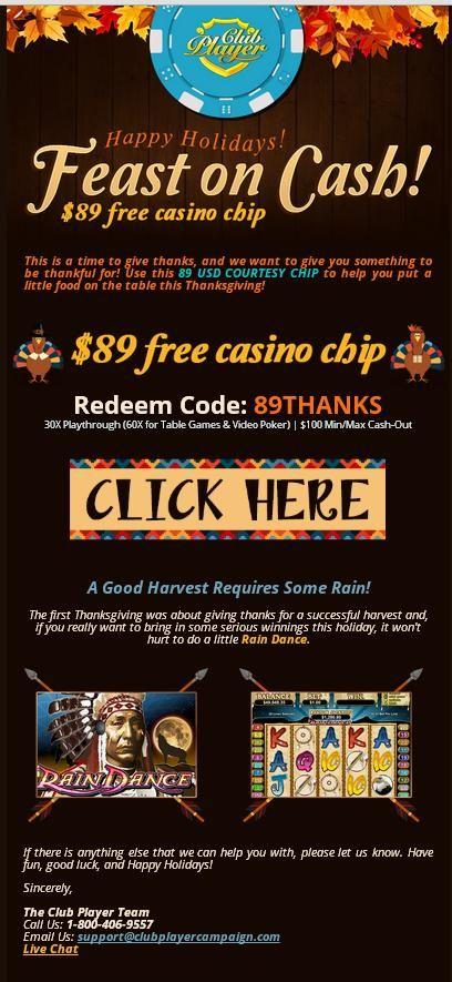 Free Chips Casino No Deposit Required