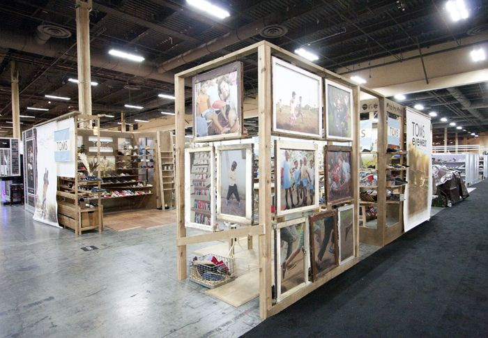 Warehouse Trade Show Booth : Toms shoes tradeshow booth could we do something like this