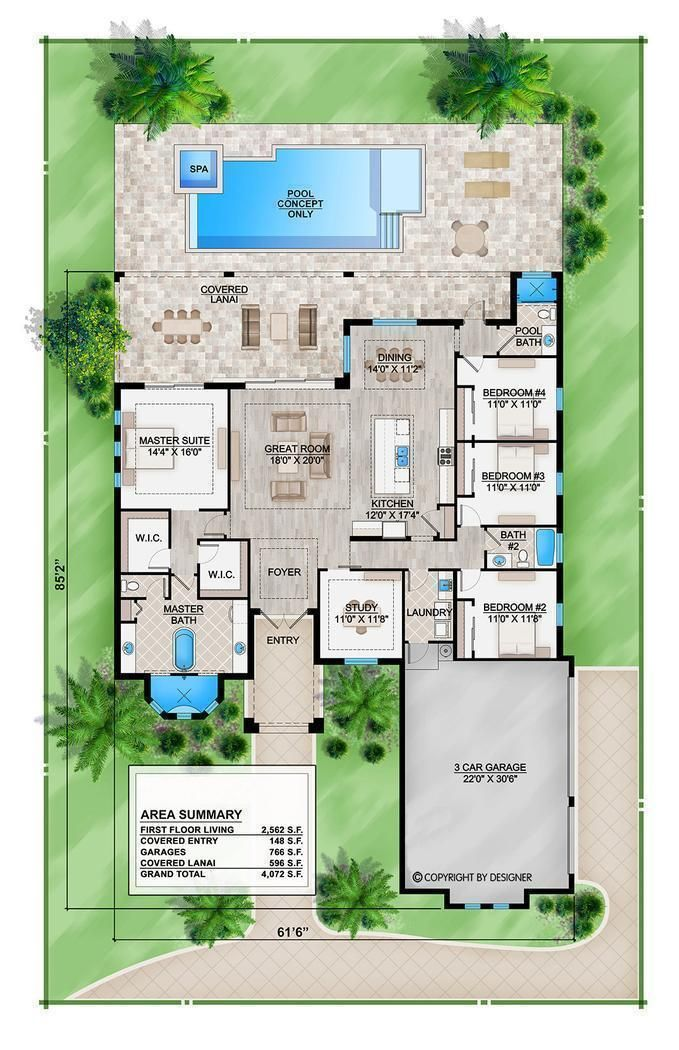 HPM Home Plans Home Plan 0092562 in 2021