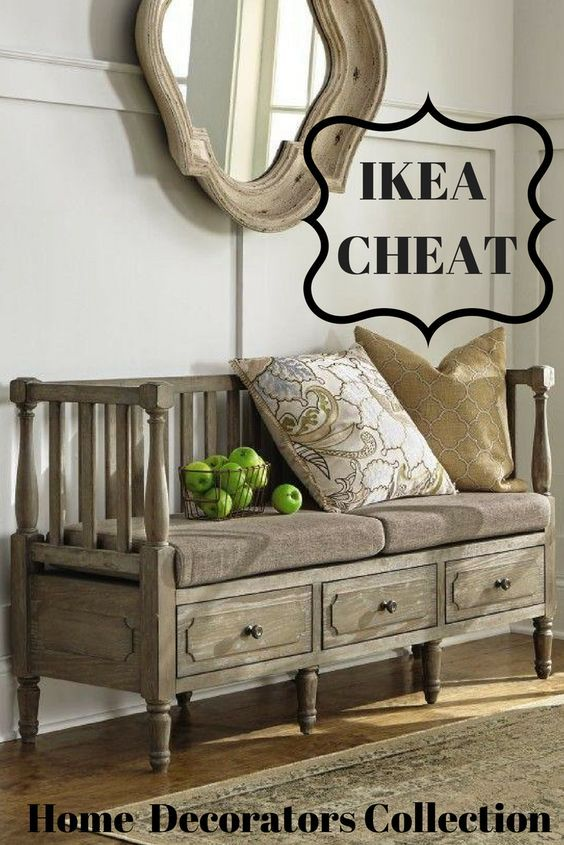 Home Decorators Collection Archer Washed Oak Storage Bench 9613900970 The Home Depot Storage Bench Bedroom Farmhouse Bedroom Benches Rustic Storage Bench