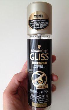 Gliss Ultimate Repair Sivi Sac Kremi 2020 Keratin Sac Makyaj
