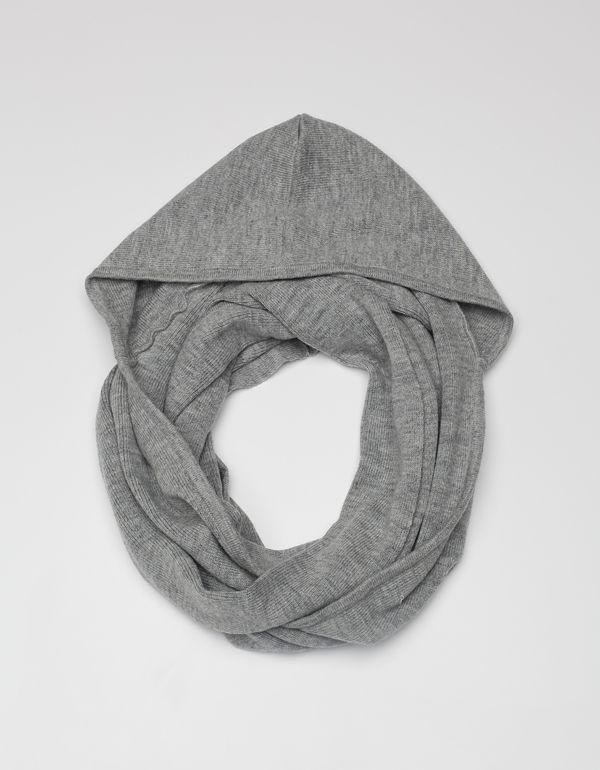 DeNadaHooded Cowl Long g-grey No   Designer Bags, Watches + ...