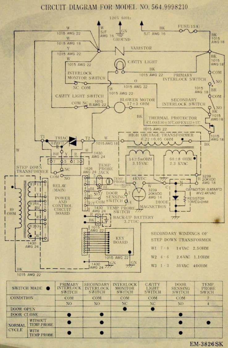 Cimg1968 Microwave Oven Schematic Power Supply Circuit Circuit Circuit Diagram
