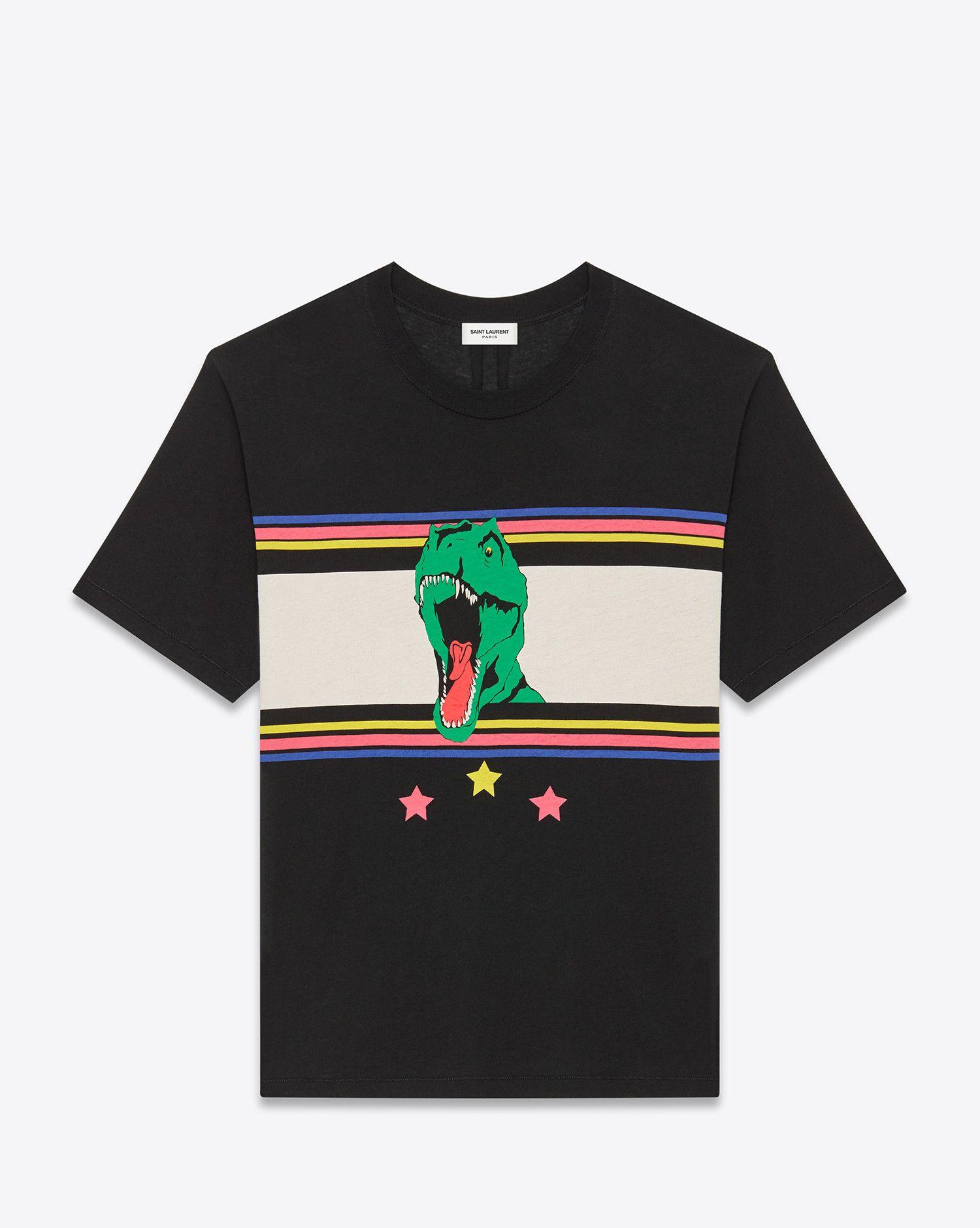 3D Printed T-Shirts Vintage Urban Tyrannosaurus Head Short Sleeve Tops Tees