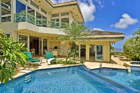 Beautiful Homes In Hawaii look at this villa, looking to cool with pool. get this type of