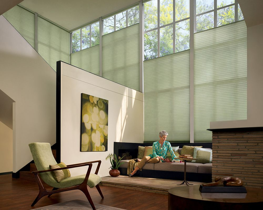 Loft bedroom windows  Cover large loft space windows with the energy efficient style of