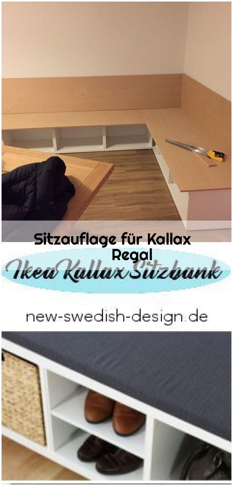 IKEA Hack Sitzbank aus Kallax Regal another girl's