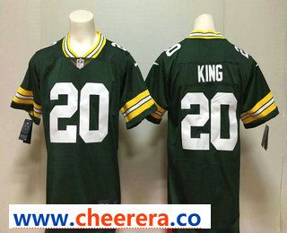 Men s Green Bay Packers  20 Kevin King Green 2017 Vapor Untouchable  Stitched NFL Nike Limited Jersey 494b1818f
