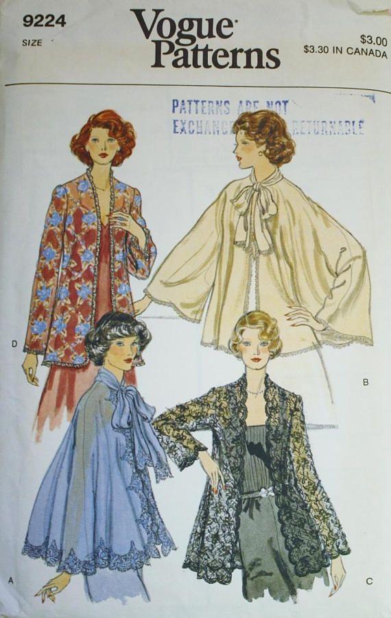 Evening Jacket Sewing Patterns