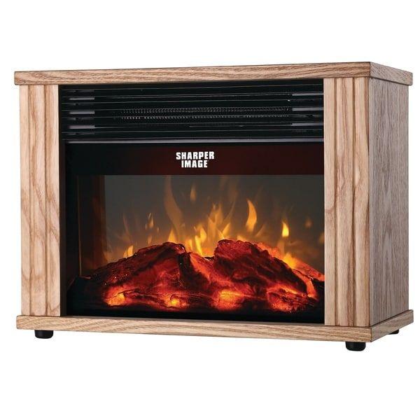 Sharper Image Electronic Fireplace Heater Homestyle Pinterest