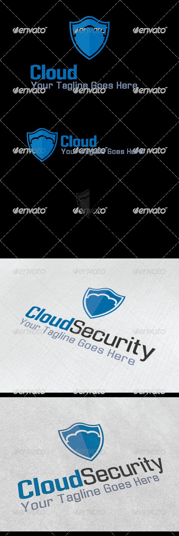 Cloud Security Logo Security Logo Logo Templates Logos