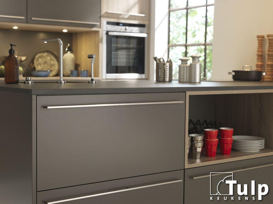 Moderne Keuken Grijs : Moderne tulp keuken grijs front tulp moderne keukens
