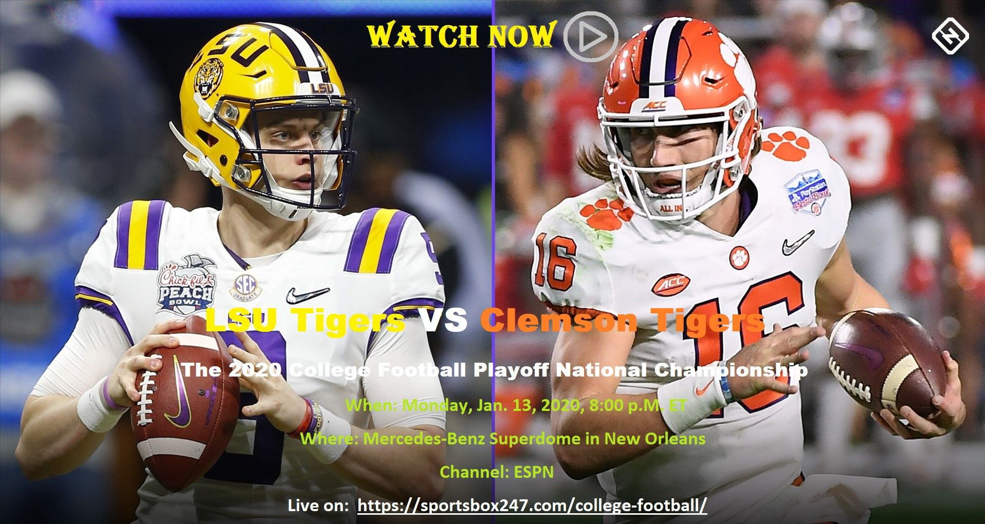 Lsu tigers vs clemson tigers will meet in an thrilling