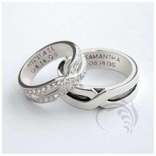 10 anillos de compromiso modernos y románticos para combinar con tu pareja