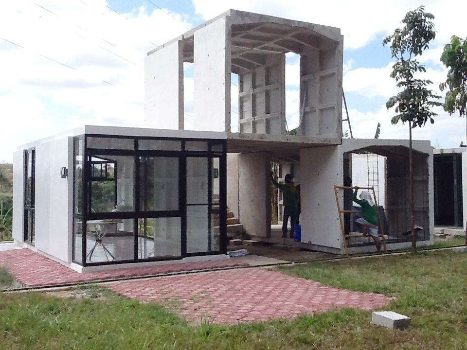 New Prefabricated Or Cast In Place Building System In The