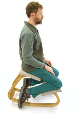 chairs good for posture | So you want the healthy back posture of a kneeling chair but are .  sc 1 st  Pinterest & chairs good for posture | So you want the healthy back posture of a ...