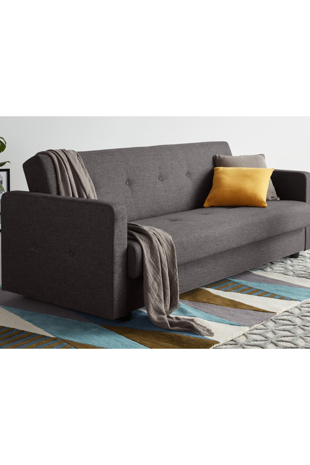 Chou Schlafsofa Mit Bettkasten Cygnetgrau Sofa Bed With Storage Sofa Bed Bed