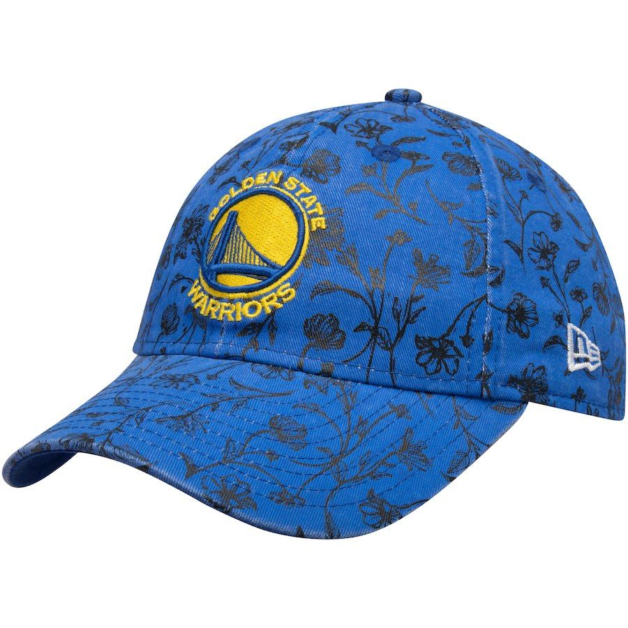 71ebcad8dff20f Girls Youth Golden State Warriors New Era Royal Floral Peek 9TWENTY Adjustable  Hat, Your Price: $19.99