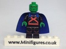 MARTIAN MANHUNTER Black Lantern Custom Printed /& Inspired DC LEGO Minifigure