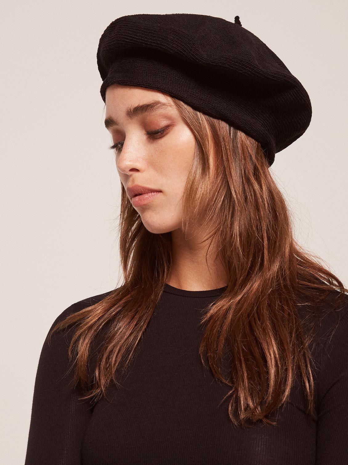 715c5cdeb1e68 Le beret francais ecojean beret black 1 clp