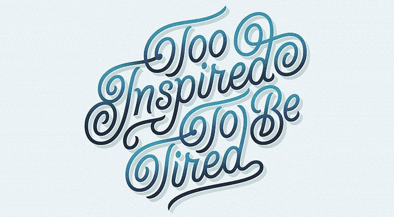 40+ Exquisite Typography Artworks For Inspiration By Dan