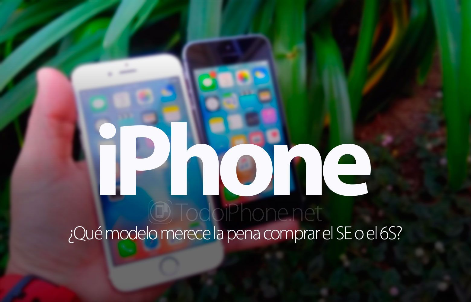 iPhone SE vs iPhone 6s ¿Cuál comprar? http://blgs.co/klC14e