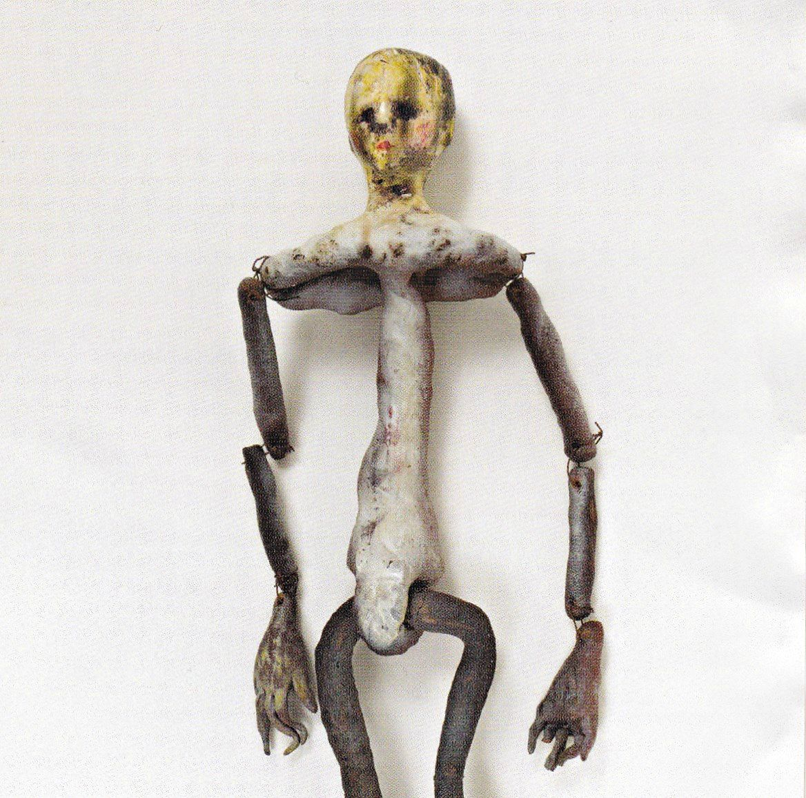 A doll made by Kurt Cobain. This looks like the creature from ...