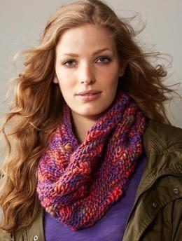 Oriental Color Loop   Knit Knut Knerd   Snood knitting