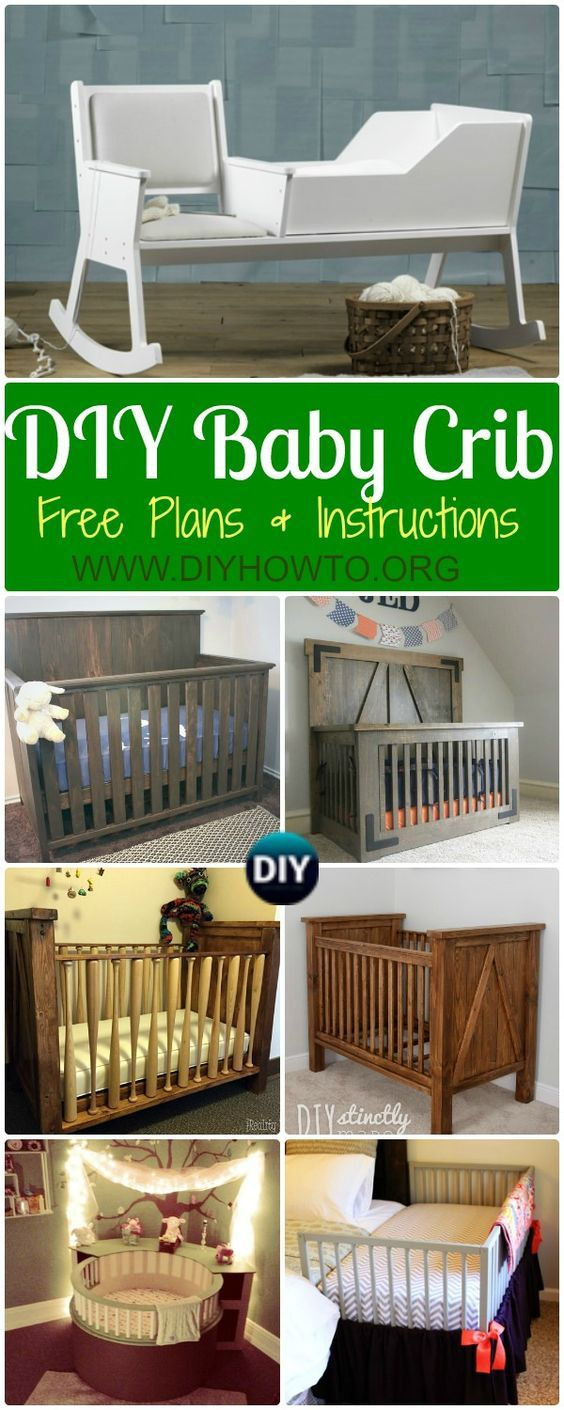 DIY Baby Crib Projects Free Plans & Instructions | Bebé