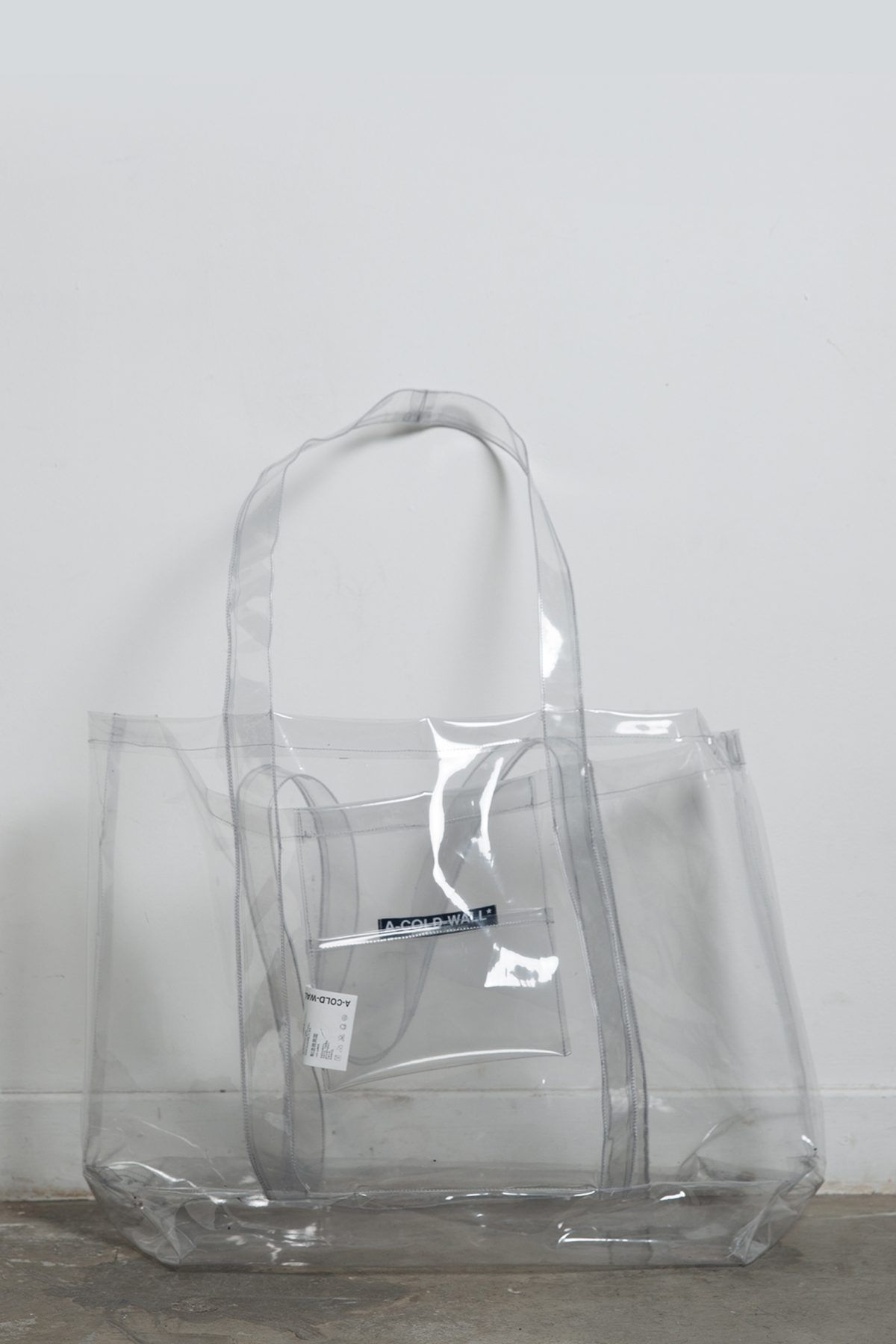 A Cold Wall Bags Clear Plastic