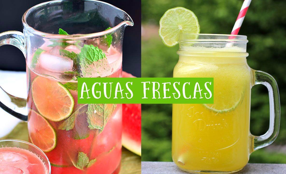 Prepara unas deliciosas aguas frescas para disfrutar de las ...