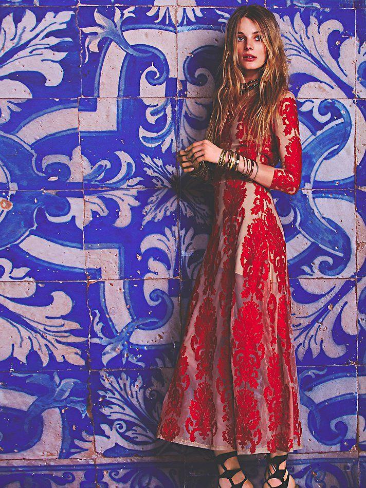 Free People San Marcos Maxi Dress, TL441.09