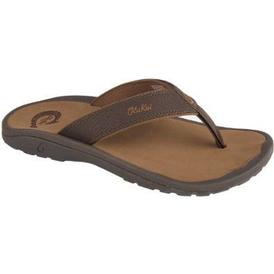 These are the sandals you want for your beach, lake, or summertime adventure. They not only feel great to wear, but they wick away water and are machine washable. (Olukai 'Ohana Sandal) [outdoor travel clothing shoes]