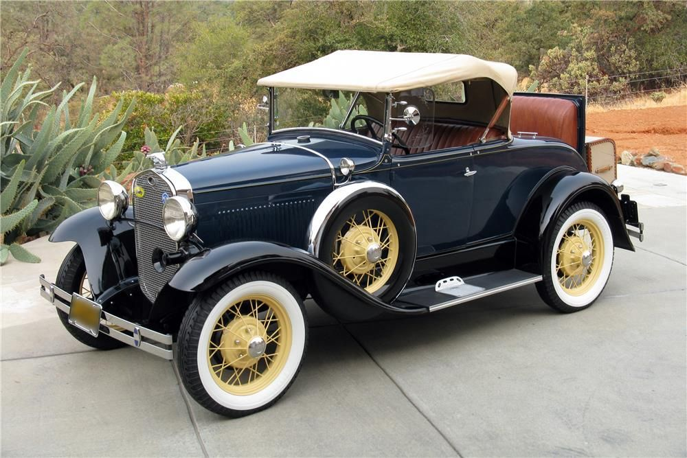 1931 FORD MODEL A ROADSTER - Barrett-Jackson Auction Company - World's Greatest Collector Car Auctions