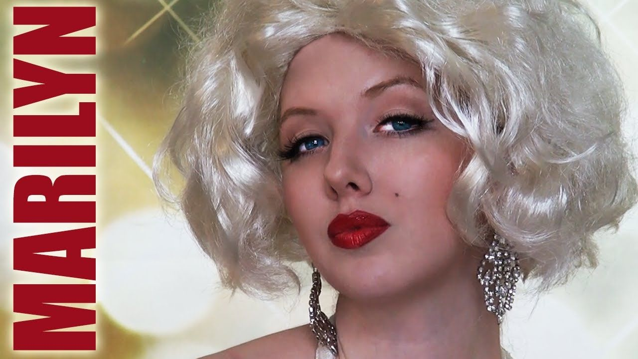 Marilyn Monroe Makeup Authentic Marilyn Monroe Makeup Tutorial The Wig Is Awful