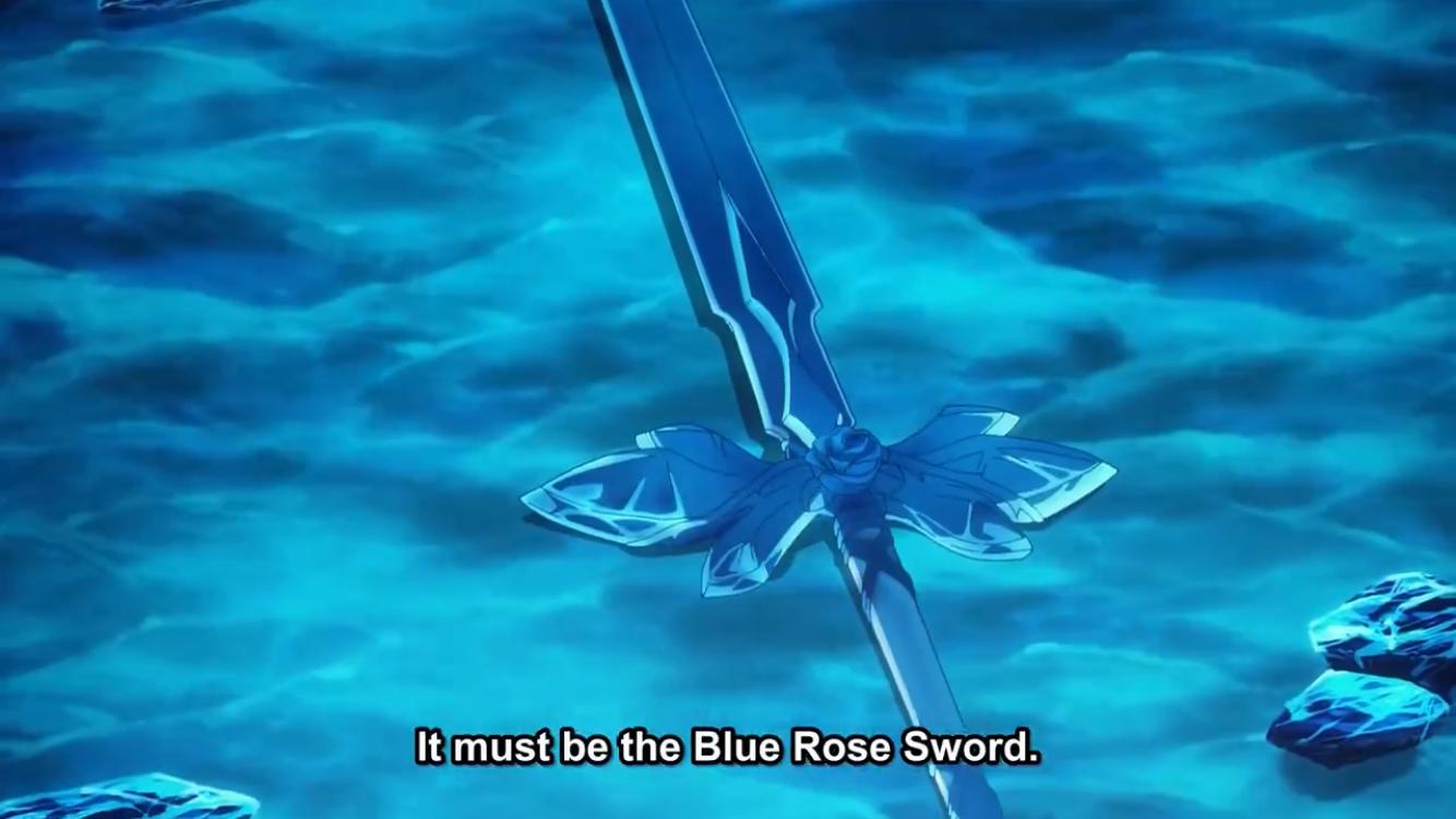 Sword Art Online Alicization Blue Rose Sword Art Online Sword Art Online Art