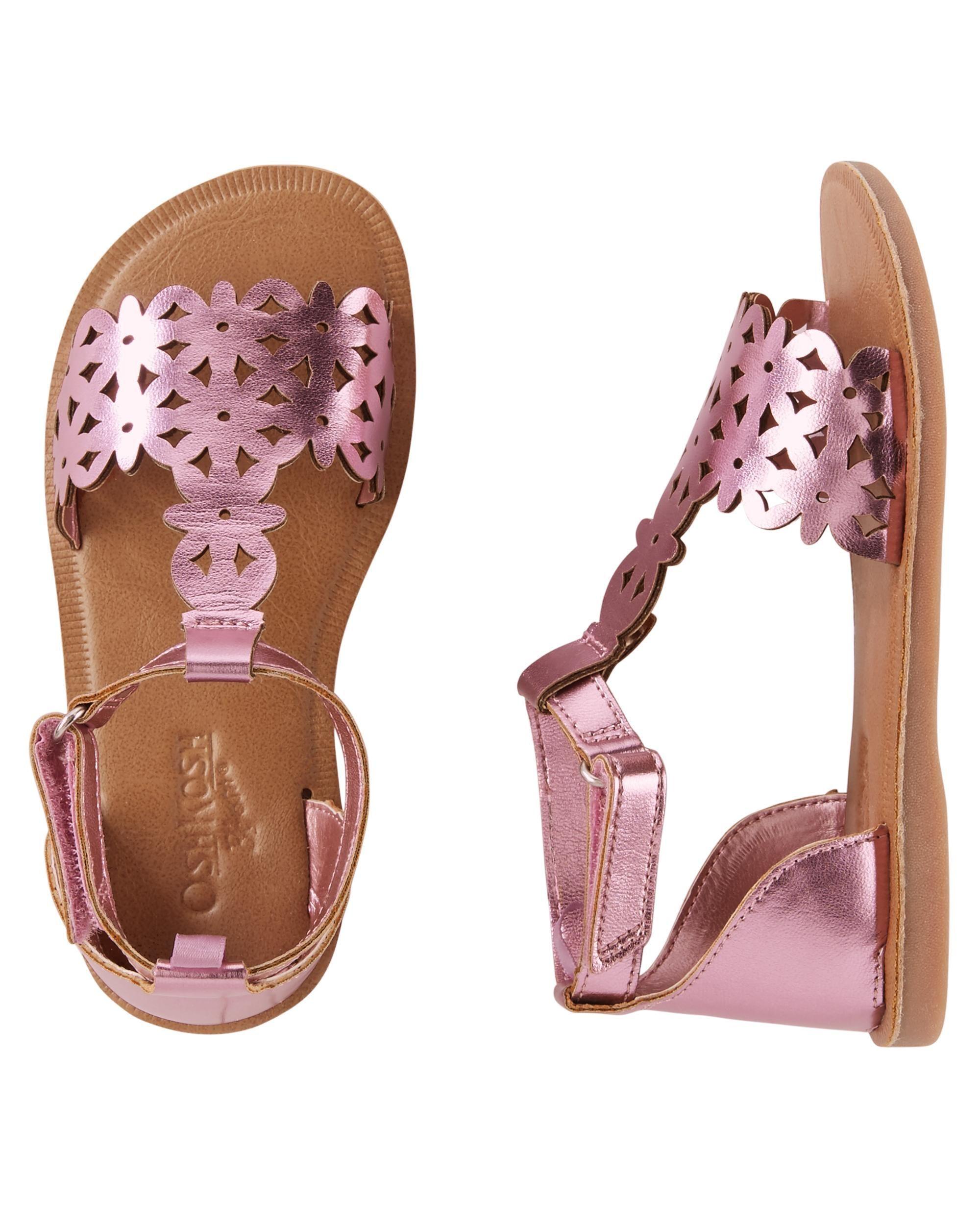 db251c64317f Toddler Girl OshKosh Metallic Sandals
