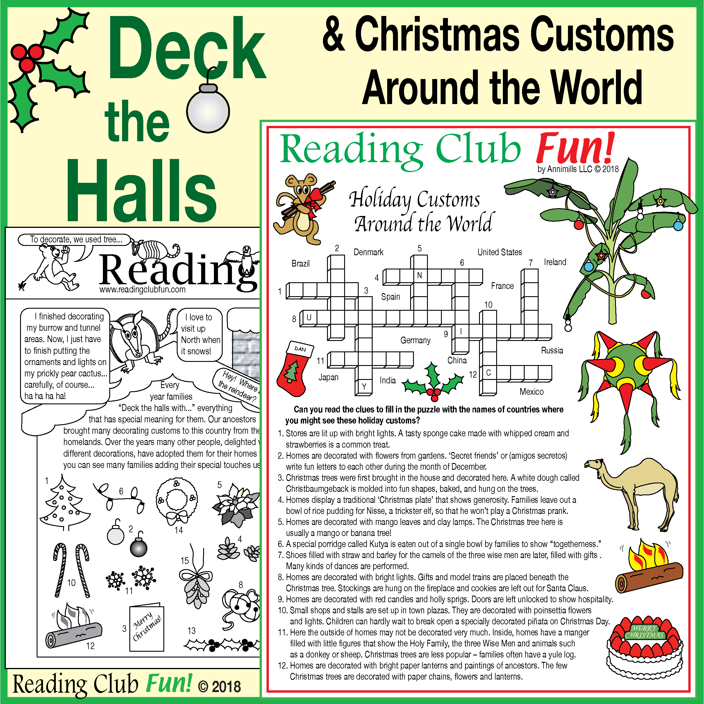 Deck The Halls Holiday Decorations Amp Christmas Customs