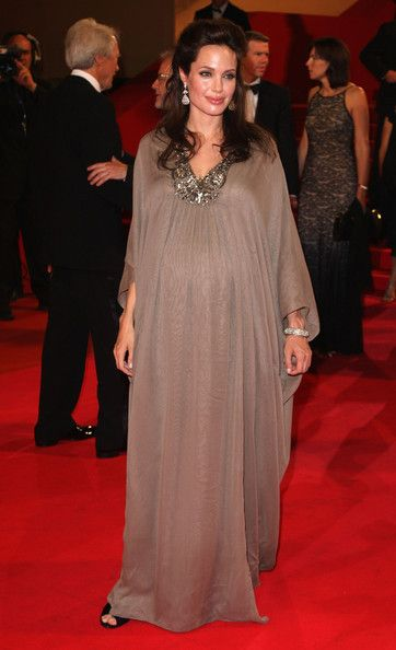 Dubai Kaftan Angelina Jolie Roter Teppich Arabeske Abendkleid Braun ...