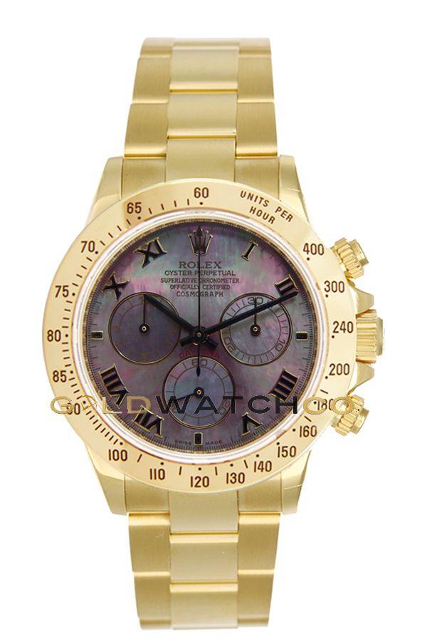 e54ecb31983  Rolex 40mm 18K Yellow Gold Daytona