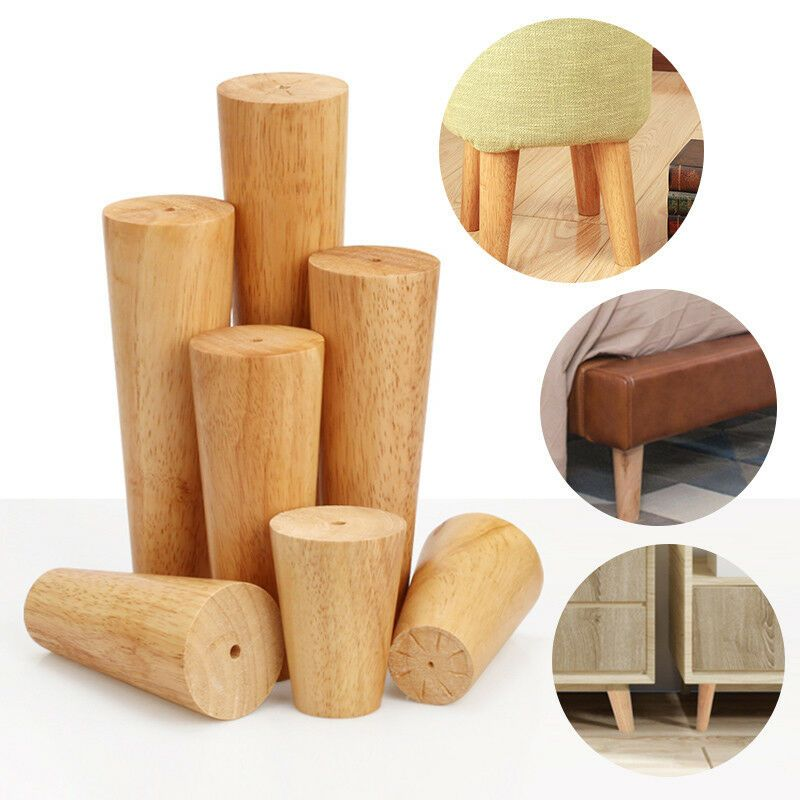 Details About 1 4pcs Wooden Furniture Legs Feet Angled Straight For Sofa Table Chair Footstool In 2020 Wooden Furniture Legs Furniture Legs Sofa Table