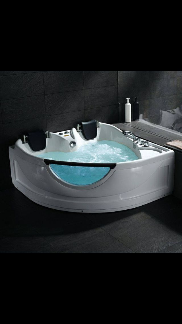 Heart shaped two person bath! Loving it!! ❤ | Bathtubs ...